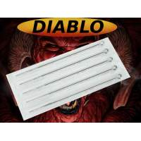 Premade needles on bar DIABLO 50 pcs