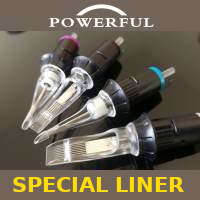 Cartucce Powerful liner speciali