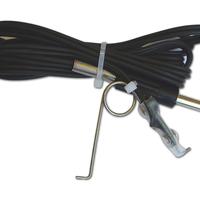 Silicone clip cord -Jack
