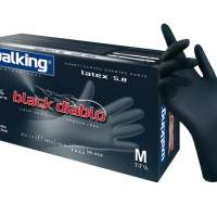 Black Diablo  gloves  -  10 boxesa