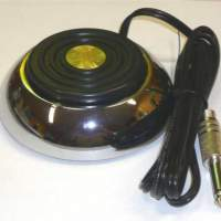 Round foot switch - jack