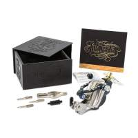 Inkjecta Eclipse Rotary Tattoo Machine - Black - Silver