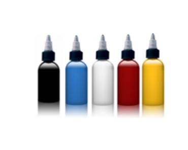1 nero+4 colori 30 ml